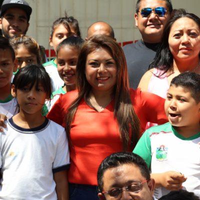 Inician rehabilitación de Escuela Técnica Deportiva en Tulum