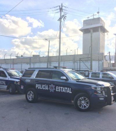 En confuso incidente, muere policía estatal en la cárcel de Cancún al presuntamente resbalar y caer de una torre