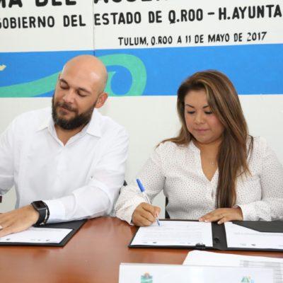 VAN CONTRA LA CORRUPCIÓN EN TULUM: Firma comuna acuerdo para usar herramientas de control y transparencia municipal