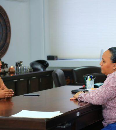 Atiende Alcaldesa Cristina Torres a ciudadanos en audiencias privadas en Solidaridad