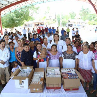Lanzan proyecto piloto en Francisco Uh May para fomentar arraigo en comunidades