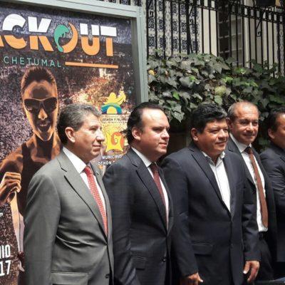 Presentan en la CDMX el 'Triatlón Black Out' que se realizará en Chetumal el próximo mes de junio