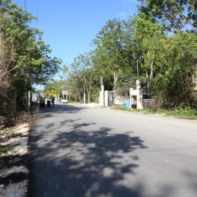 Entrega Alcaldesa obra de pavimentación por más de 2 mdp en la colonia Veleta de Tulum