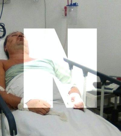 SEGUIRÁ RUSO INTERNADO POR 4 Ó 5 DÍAS MÁS: Aleksei Makeev se encuentra reactivo y consciente, informa director del Hospital General de Cancún