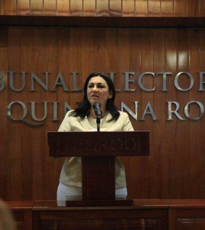 ELIGEN A NORA CERÓN COMO PRESIDENTA DEL TEQROO: La primera mujer en encabezar el órgano electoral sustituye al polémico Víctor Vivas