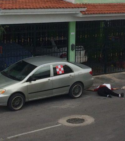EJECUTAN A UNA MUJER EN CANCÚN: Desconocidos realizaron un solo disparo contra su víctima en la SM 90