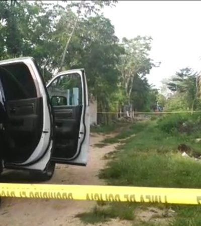 Encuentran cuerpo de hombre asesinado a puñaladas en la Región 306 de Cancún