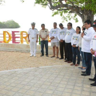 Inaugura Alcalde Luis Torres parador turístico en Calderitas