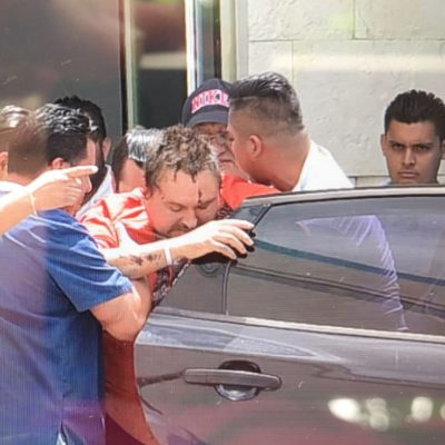 COBERTURA | INGRESAN A PRISIÓN A RUSO DE CANCÚN: Trasladan del hospital al Cereso al polémico Aleksei Makeev, quien mató a un joven cuando lo intentaron linchar por insultar a mexicanos