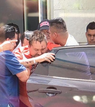 COBERTURA   INGRESAN A PRISIÓN A RUSO DE CANCÚN: Trasladan del hospital al Cereso al polémico Aleksei Makeev, quien mató a un joven cuando lo intentaron linchar por insultar a mexicanos