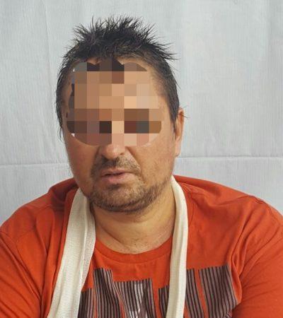 Reportan estable de salud al ruso Aleksei Makeev, a quien mantienen en un área de segregados en el Cereso de Chetumal