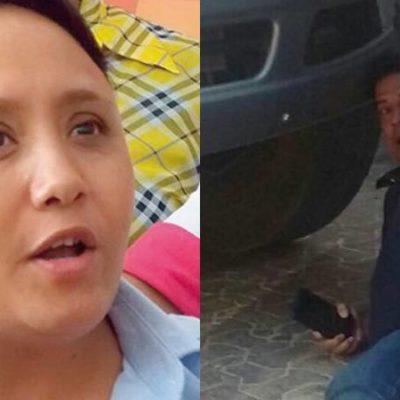 Anuncia Alcaldesa Cristina Torres investigación sobre presunta agresión de policías a empresario en Playa del Carmen