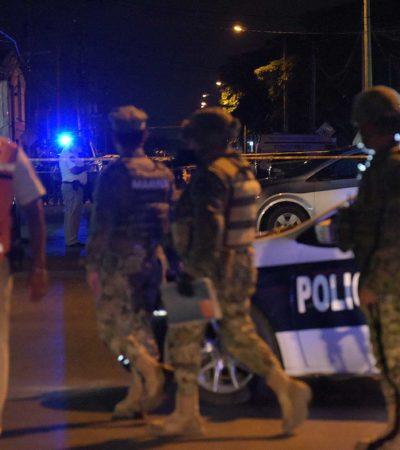 OTRA EJECUCIÓN EN PLAYA: Matan por Villas del Sol a un hombre 'levantado' en In House; detienen a 2 presunto sicarios