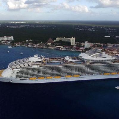 Recibirá Cozumel 16 cruceros durante la semana que inicia