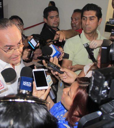 """NOTARIOS DEL BORGISMO, INTOCADOS AÚN: Confirma López Mena que Notarías """"están funcionando porque fueron otorgadas con apego a la ley"""""""