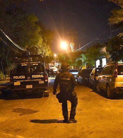 Detienen a supuestos escoltas de empresario por realizar disparos en la SM 50 de Cancún