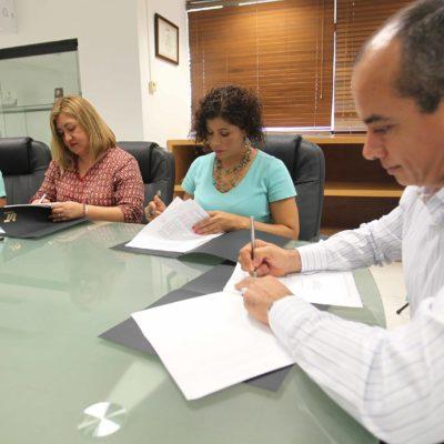 Firma UT convenio para la prevención de adicciones en Cancún