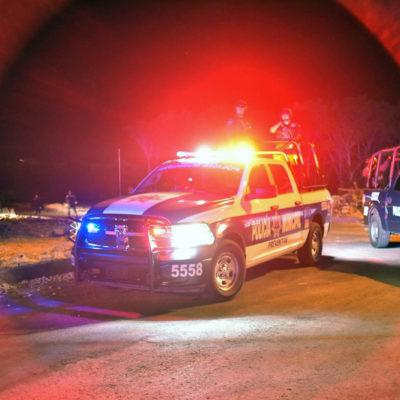 HALLAN A EJECUTADO POR EL ARCO VIAL: Matan a balazos a un hombre en la Región 248 que habría sido 'levantado' en la Región 217 de Cancún