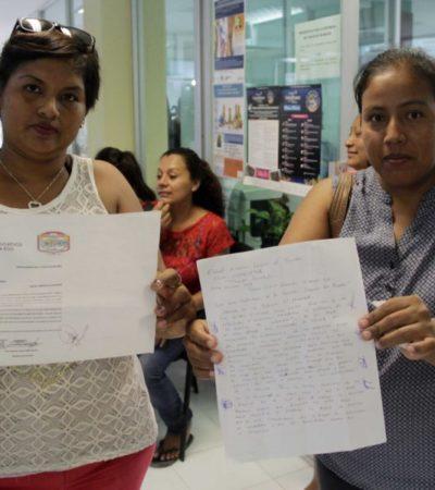 Piden madres de familia un conserje para la escuela primaria en la colonia El Pedregal de Cancún