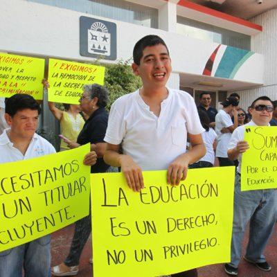 """""""NECESITAMOS UNA TITULAR INCLUYENTE"""": Piden la destitución de Secretaria de Educación"""