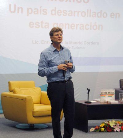 Caso del ruso afecta imagen de Cancún y México, reconoce secretario federal de Turismo