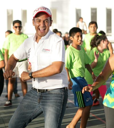 Rompeolas: Se 'autoriza' Juanito Carrillo cobro a transportistas