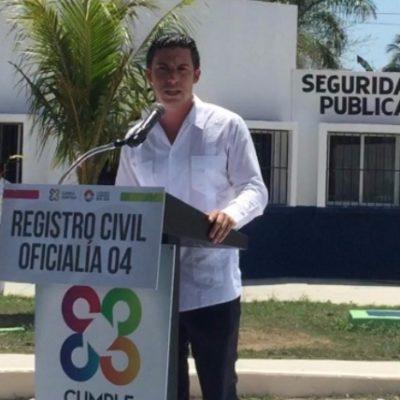 Continúan los trabajos para mejorar la seguridad, asegura Alcalde de Cancún