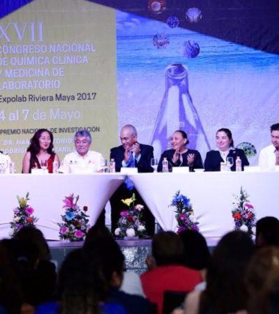 Se reúnen en Playa del Carmen más de 400 químicos en Congreso Nacional