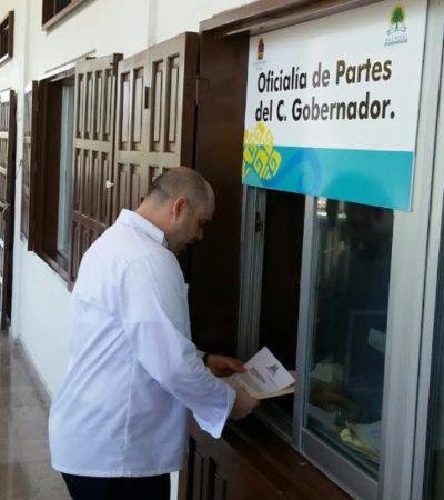 Ex director de Tránsito promueve comparecencia en el Congreso del secretario de Seguridad Pública