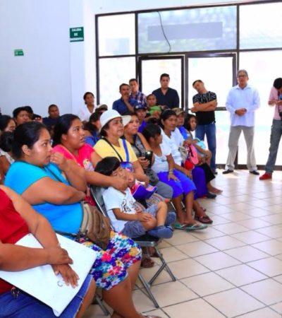 Se reúne Cristina Torres con tianguistas de la Colosio para avanzar en el ordenamiento del comercio irregular