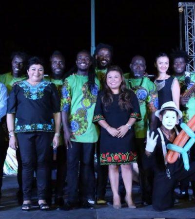 Inauguran el Festival de Cultural del Caribe con concierto en Tulum