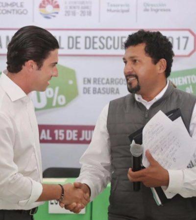 Ponen en marcha jornada municipal de descuentos en el pago del predial, licencias de funcionamiento y otros servicios en Cancún