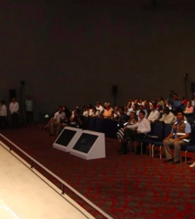 Firma Alcalde de BJ compromiso para hacer de Cancún una 'ciudad de capaz de remontar la adversidad'
