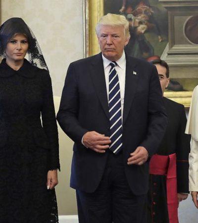 Tensa reunión entre Trump y el Papa concluye con declaraciones sobre necesidad de paz en el mundo