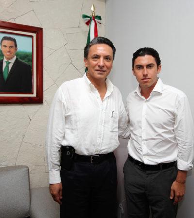 Se reúne Alcalde de BJ con titular de Zofemat para acordar acciones conjuntas para preservar playas en Cancún