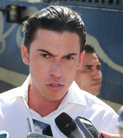 Confirma Remberto Estrada proceso de licitación de obra pública por 110 mdp