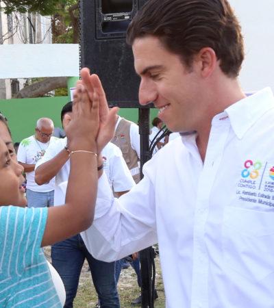 Atiende Alcalde demandas con 15 años de rezago en la Región 98