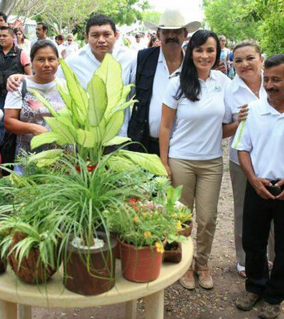 Inauguran en Puerto Morelos Primera Expo Plantas de Ornato; buscan fortalecer a productores locales