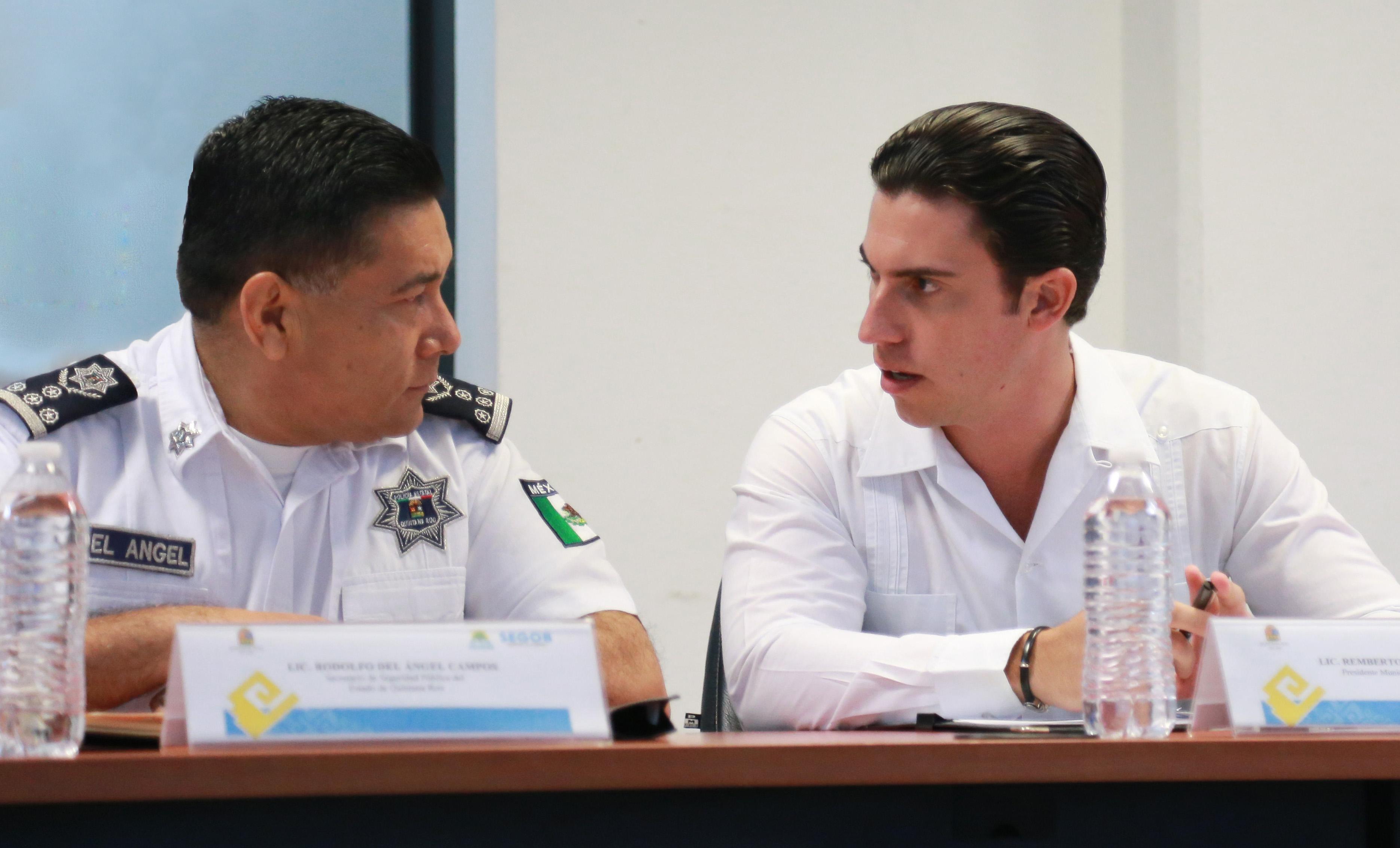 RATIFICAN ACUERDOS DE COORDINACIÓN: Encabeza Remberto Estrada reunión clave entre Estado y municipio sobre temas de seguridad