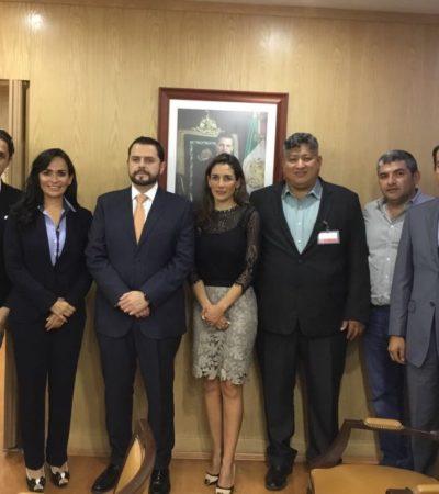 Gestiona Alcaldesa inversión de la SCT para mejorar acceso a la Ruta de los Cenotes