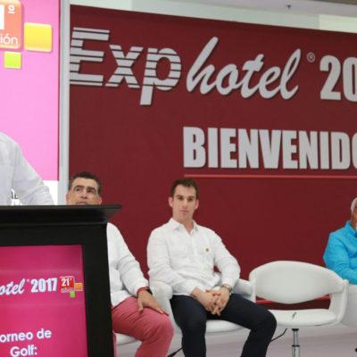 INAUGURAN EXPOHOTEL 2017: Se trabaja para consolidar a Cancún como potencia turística de México, dice Alcalde