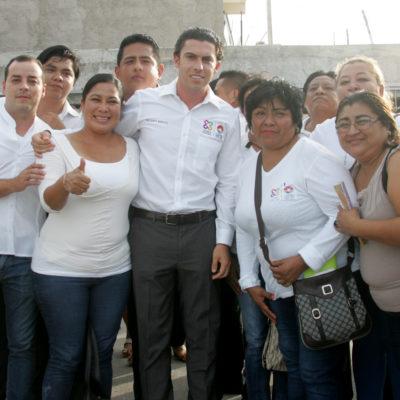 Va Alcalde a la Región 233 para anunciar paquete de obras