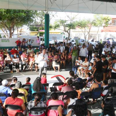 Anuncia Alcalde paquete de obras de infraestructura para regiones de Cancún
