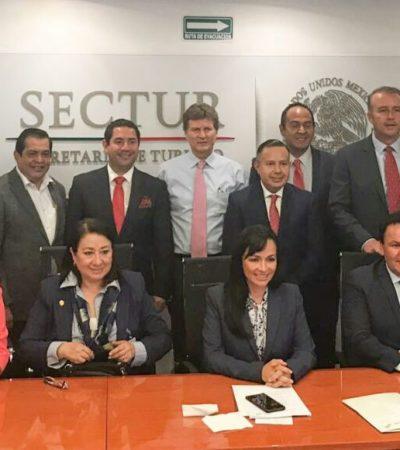 Propone Alcaldesa ventanilla única para municipios turísticos e insiste en que se nombre Pueblo Mágico a Puerto Morelos