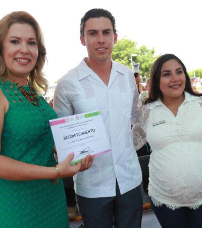 Entrega Alcalde ayudas funcionales para personas con algún tipo de discapacidad en Cancún