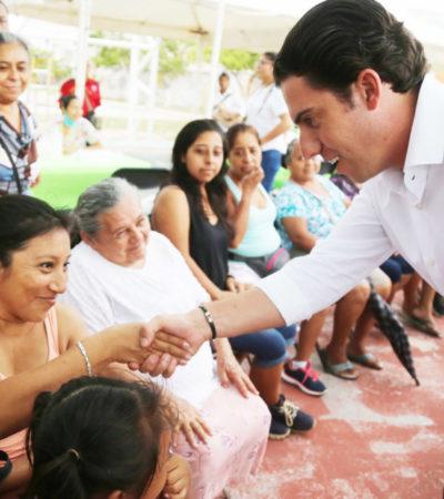 Cambia el rostro de colonias de Cancún con introducción de servicios