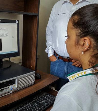 Dotan de internet a la biblioteca pública de Leona Vicario