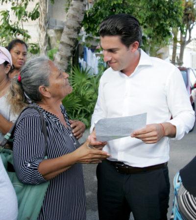 Agradecen cancunenses programa de descuentos en trámites municipales