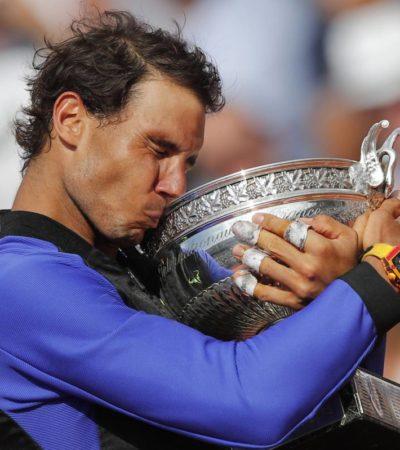 Nadal hace historia al ganar su décimo Roland Garros en París