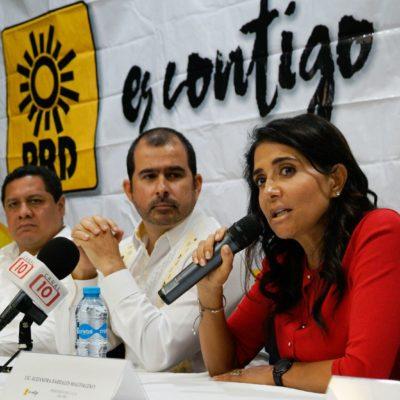 Negativa de Morena a alianza con PRD no significa convocatoria abierta ni puerta cerrada: Alejandra Barrales
